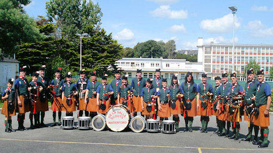 De La Salle Scout Group Pipe Band – Munster Champions 2010
