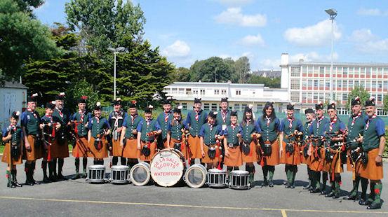 De La Salle Scout Group Pipe Band – Munster Champions 2010