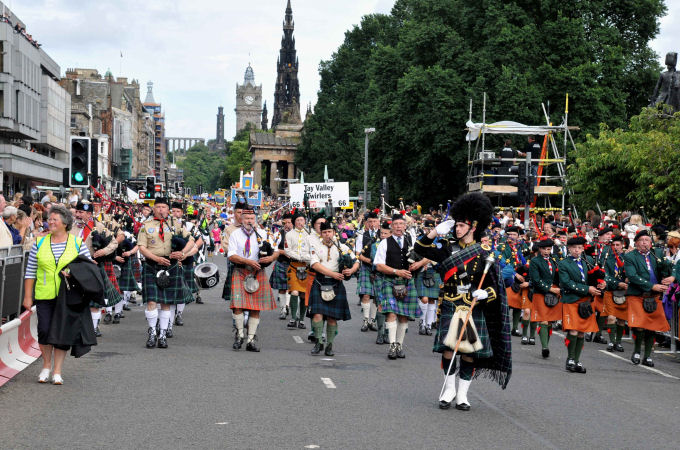 Edinburgh Cavalcade Parade 2008