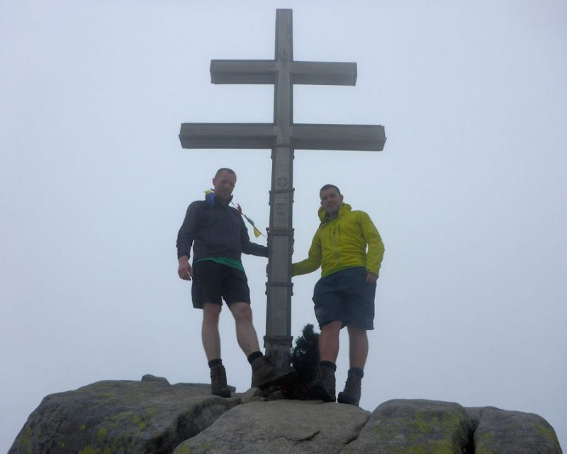 On the summit of Dumbier (2043m)