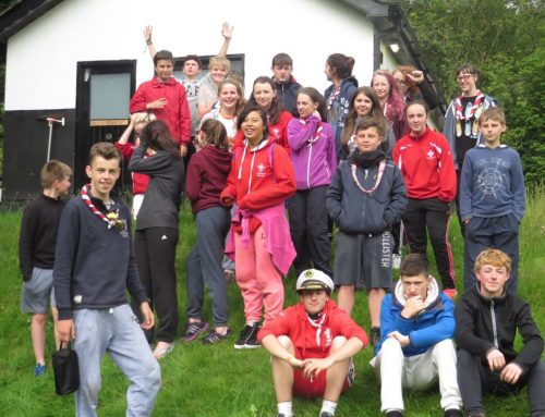3rd De La Salle Annual Camp – Lough Dan 2016