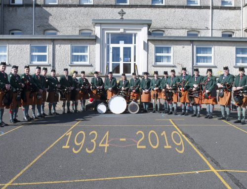 Pipe Band Retrace Steps as They Celebrate 85th Anniversary
