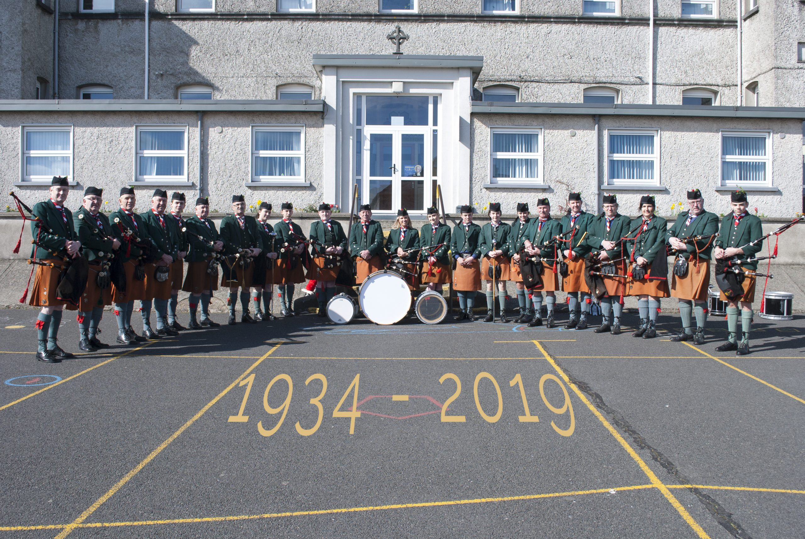 De La Salle Pipe Band Retrace Steps as They Celebrate 85th Anniversary