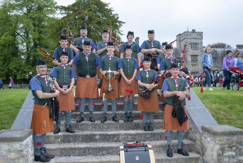 De La Salle Scout Group Pipe Band, Mallow, 2019