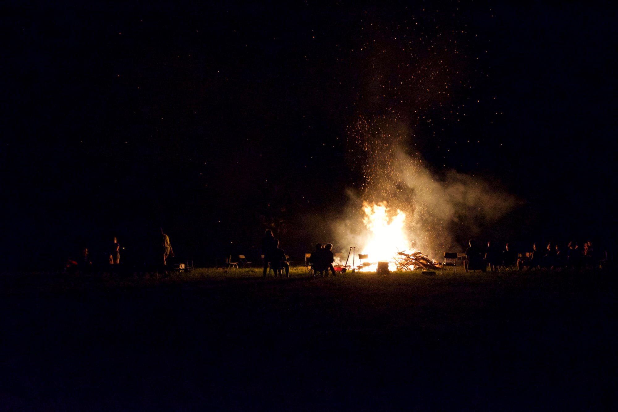 Campfire adventures. Photo by Gilles Trenson.