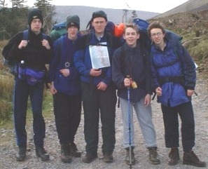 Members of the 3rd on the 2000 Sionnach/MPC in the Galtees