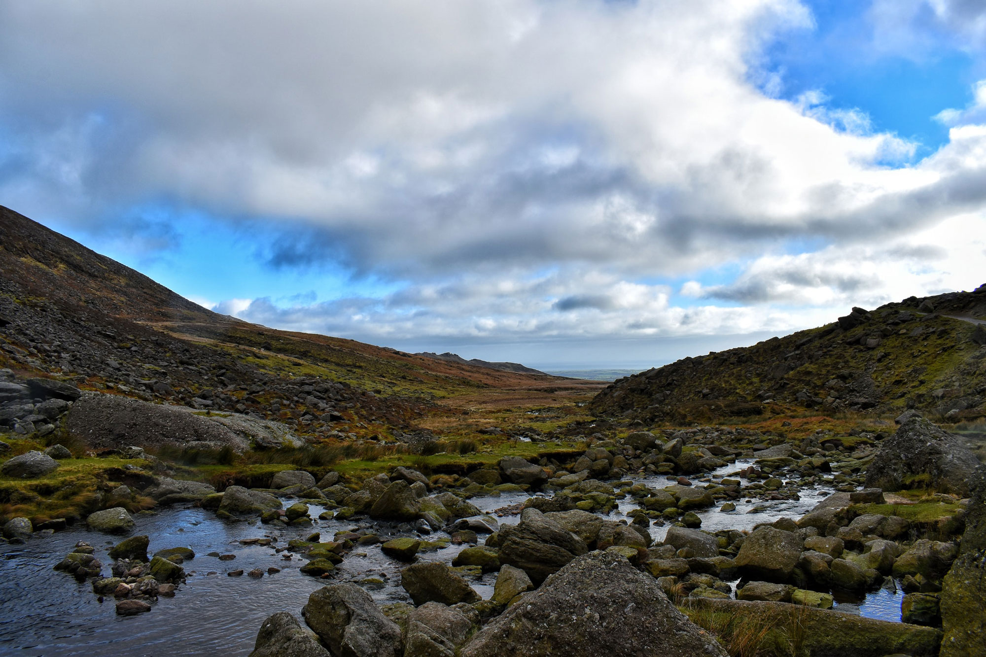 The River Mahon (an Mhachain) flows from the Comeragh Mountains in County Waterford, Ireland. Photo by Kayleigh Werner.