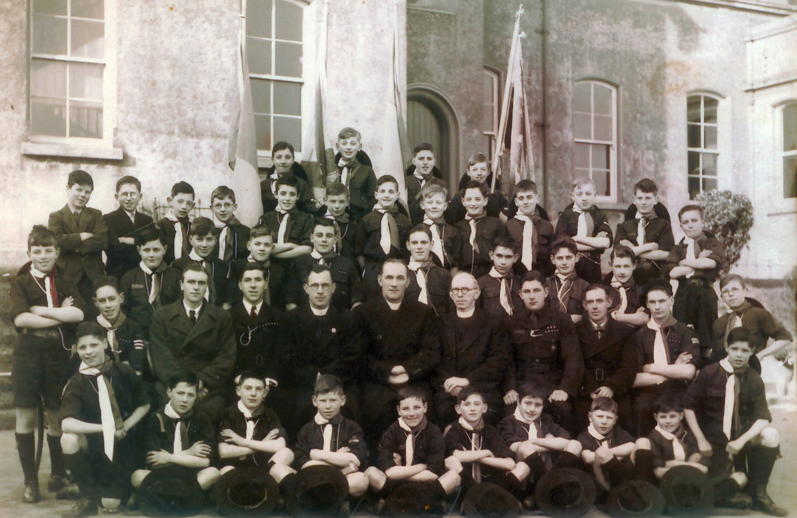 The 3rd and the 7th De La Salle Scout Troops in 1938