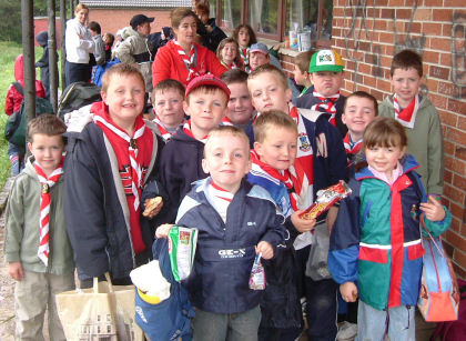 Members of the 3rd Beaver Colony on the Beaver Fun Day 2005