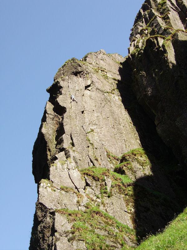 Atom Ant Wall at Coumshingaun