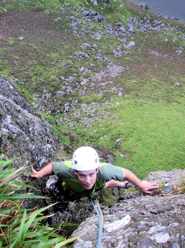 Eoin Kelly at the top of Filamingo