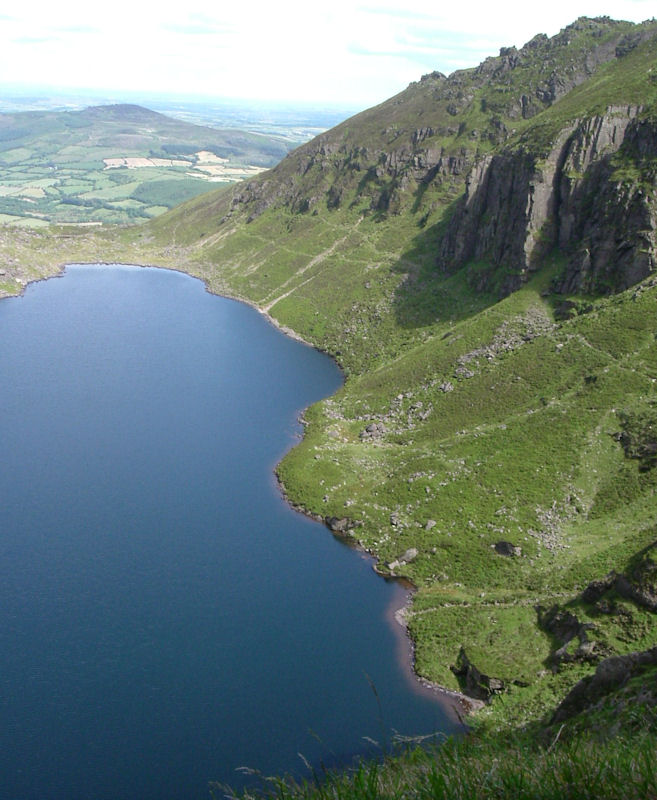Coumshingaun from high on the East Facing Cliff
