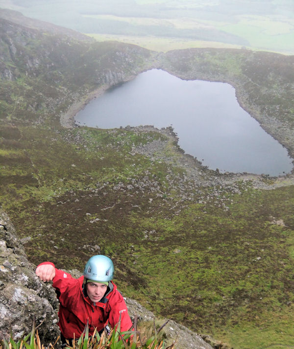 Rockclimbing at Crotty's Lake