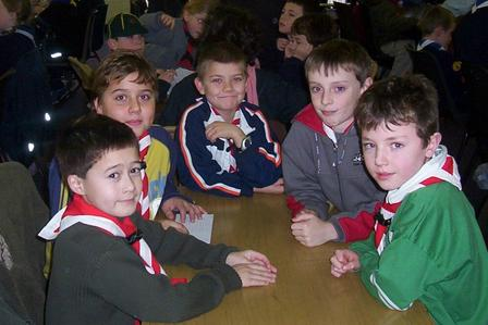 The 3rd Macaoimh at the Waterford Scout County Quiz